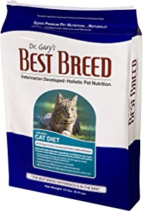 Best Breed Cat Diet Made in USA [Natural Dry Cat Food for All Ages] - 15lbs.