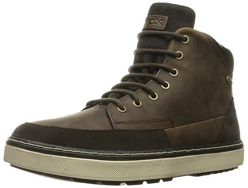 Geox U64T1B04522 - Zapatillas altas para hombre, color Marrón (Chestnut C6004), talla