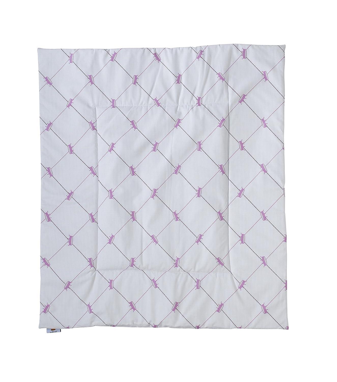 Nicolientje Playpen Mat (Pink, 90 X 100cm) 700349