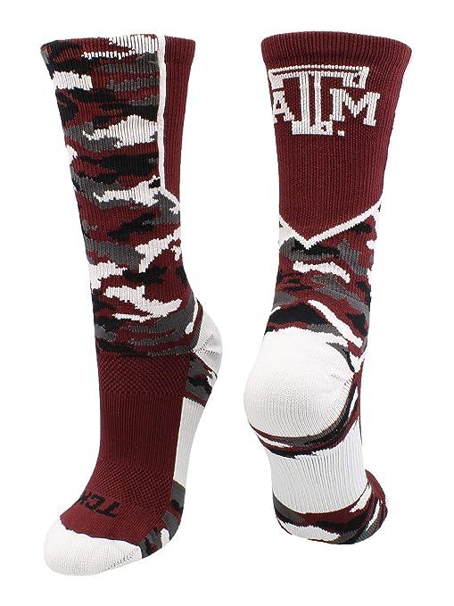 Texas A&M NCAA Argyle Crew Socks By For Bare Feet Sports Mem, Cards & Fan Shop Football-NFL