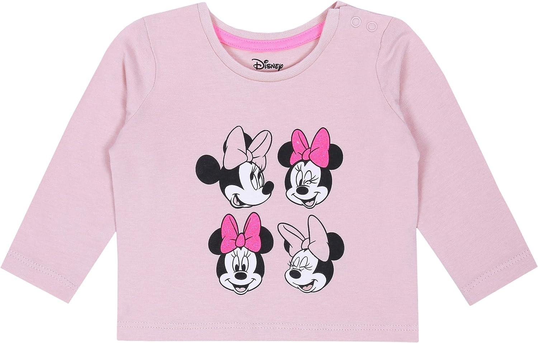 Surv/êtement b/éb/é Rose-cr/ème Minnie Mouse Disney