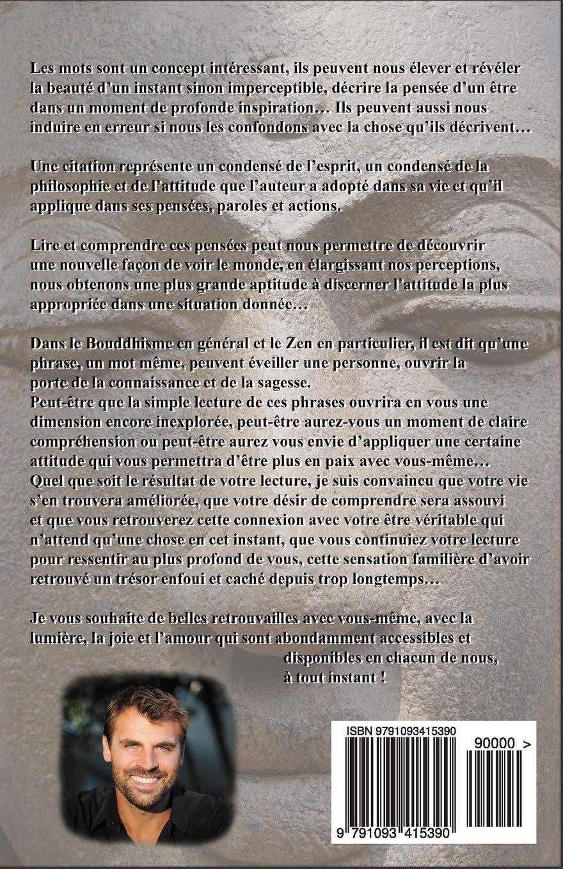 Livre De Citations Bouddhiste Méditation Bonheur Et Paix