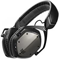 V-Moda XFBT-GUNBLACK Over-Ear Wireless Bluetooth Headphones (Gunmetal/Black)