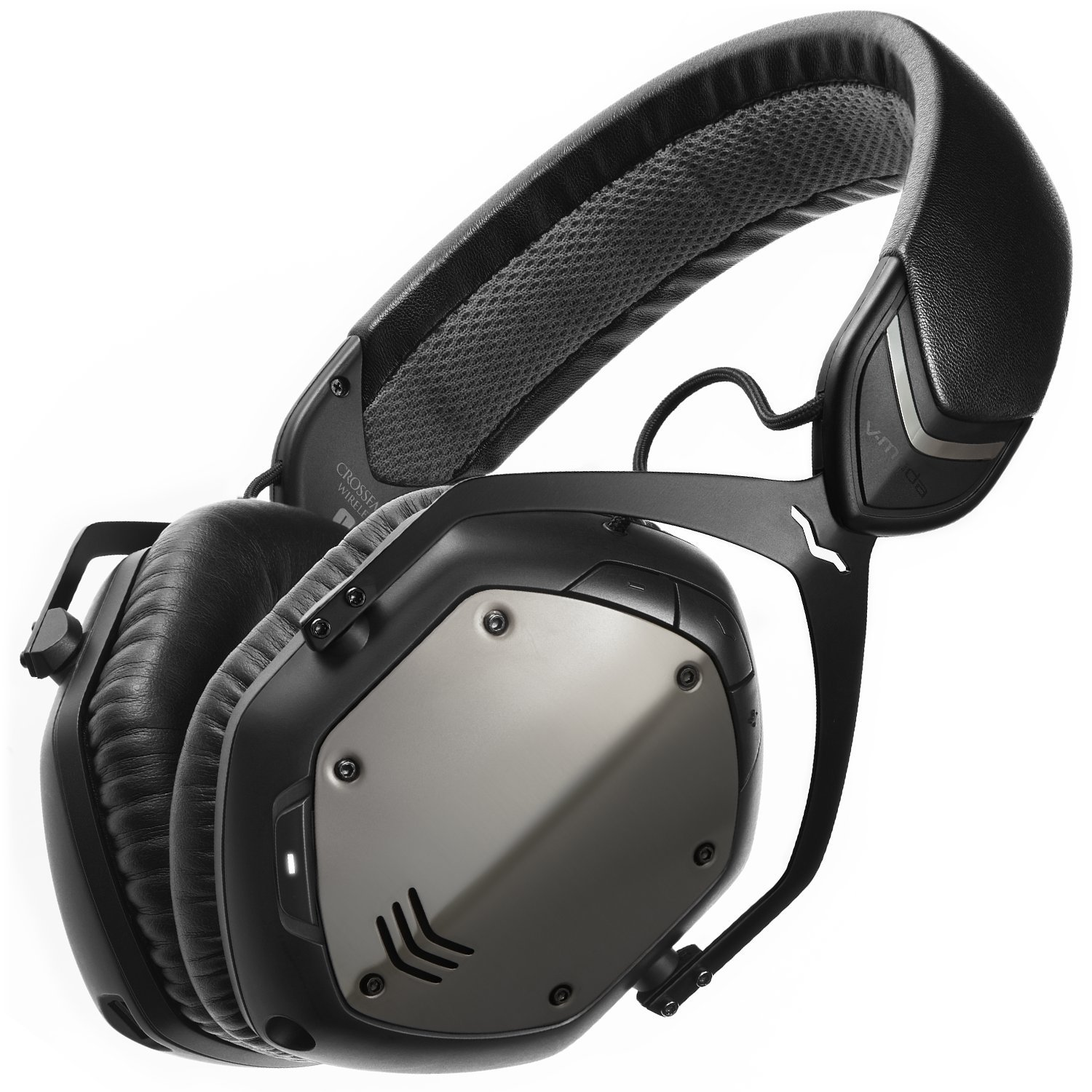 V-MODA Crossfade Wireless Over-Ear Headphone - Gunmetal Black