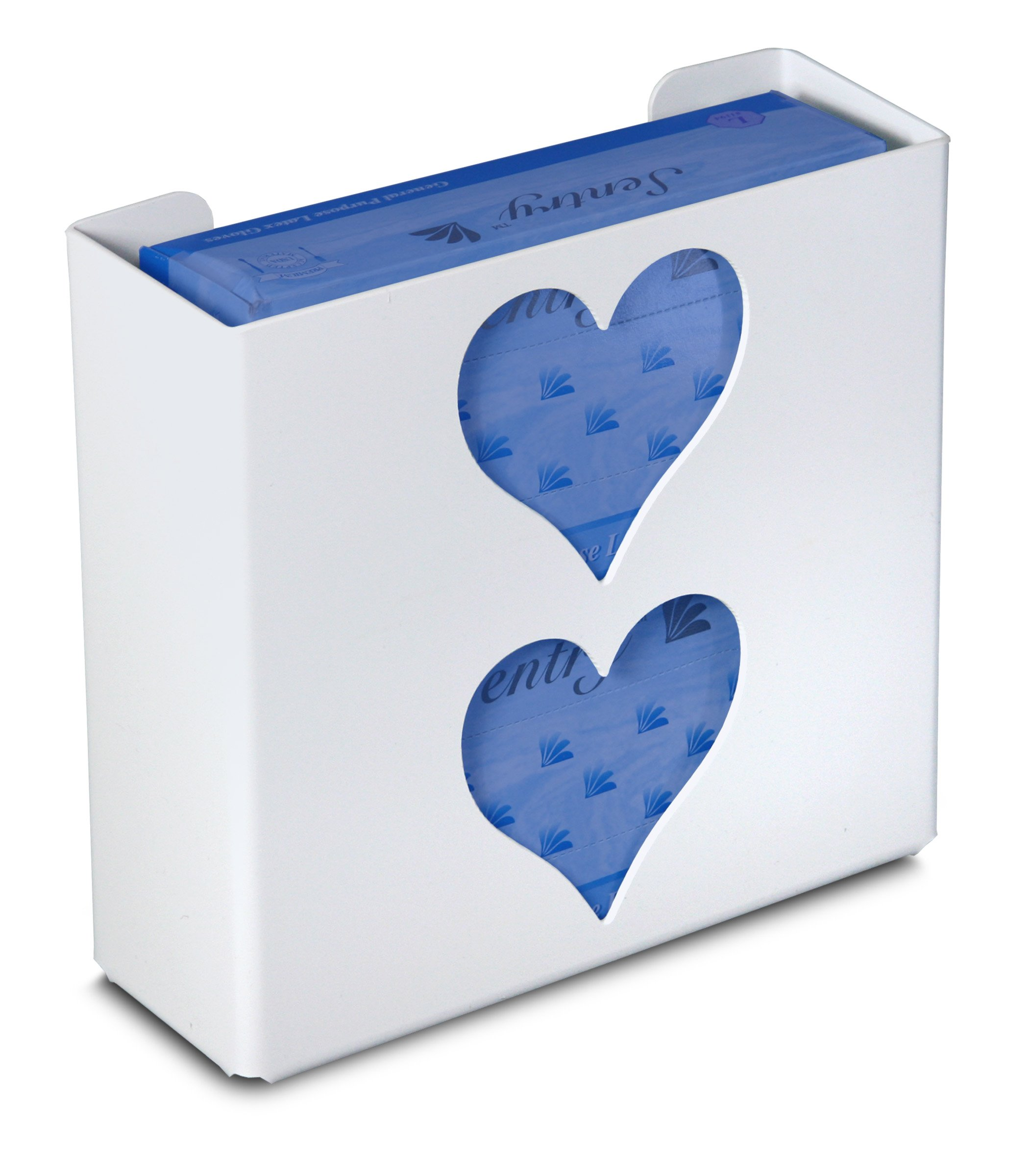 TrippNT 51051 Priced Right Double Glove Box Holder with Heart, 11'' Width x 10'' Height x 4'' Depth