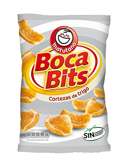 Matutano - Boca Bits - Producto aperitivo de trigo frito con sabor a carne - 84