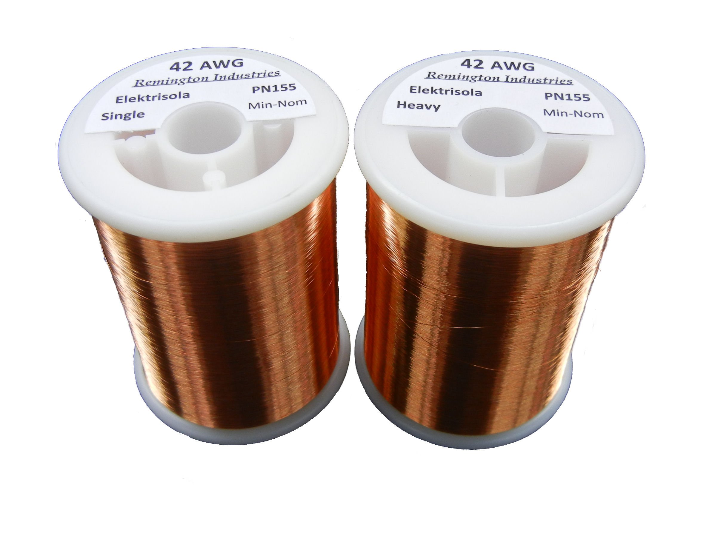 Pickup Winders Kit #1 - 42 & 42 Heavy AWG Enameled Copper Magnet Wire - 1.0 lbs