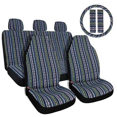 Amazon.com: Fundas para asiento, volante y cinturón ...