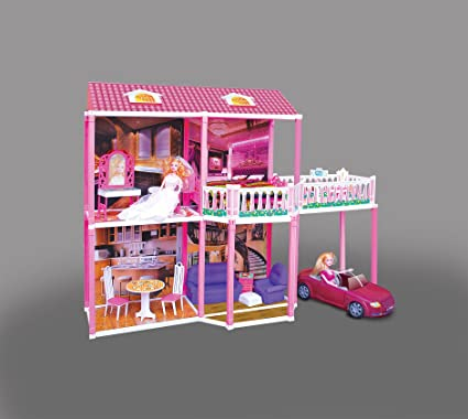 Buy Toyzone My Splendid Doll House White Online At Low Prices In