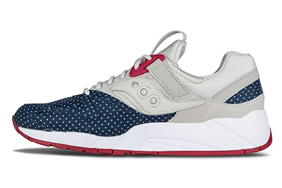 Saucony Originals Zapatillas Grid 9000 Dots Taupe/Azul/Ciclamen EU 44.5 (US 10.5)