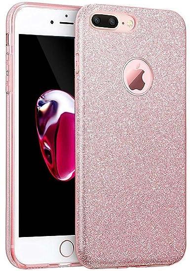 amazon com iphone 7 plus case,eraglow iphone 7 plus back coveramazon com iphone 7 plus case,eraglow iphone 7 plus back cover sparkle shinning protective bumper bling glitter case for 5 5 inches iphone 7 plus (rose