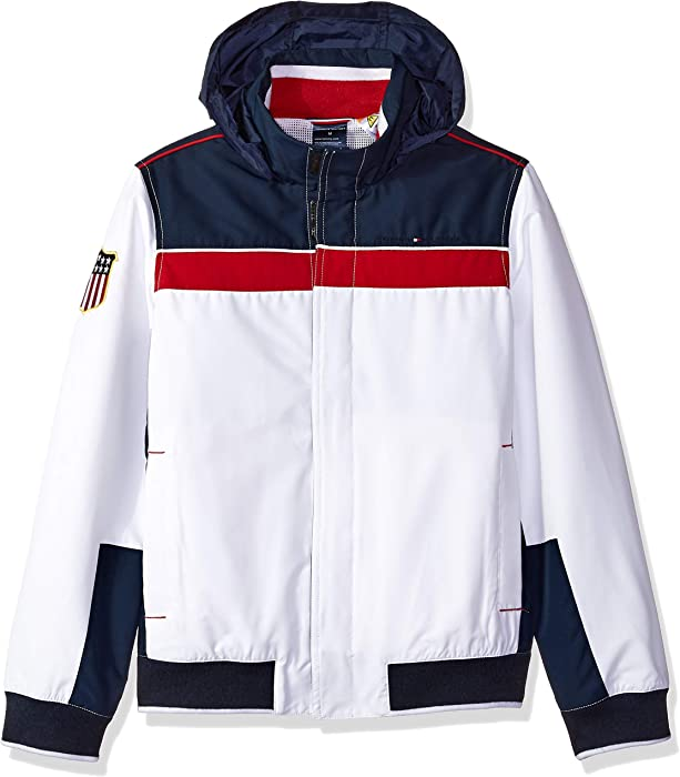5b2c1c5c Tommy Hilfiger Boys' Regatta Jacket with Magnetic Buttons, Core Navy X-Small