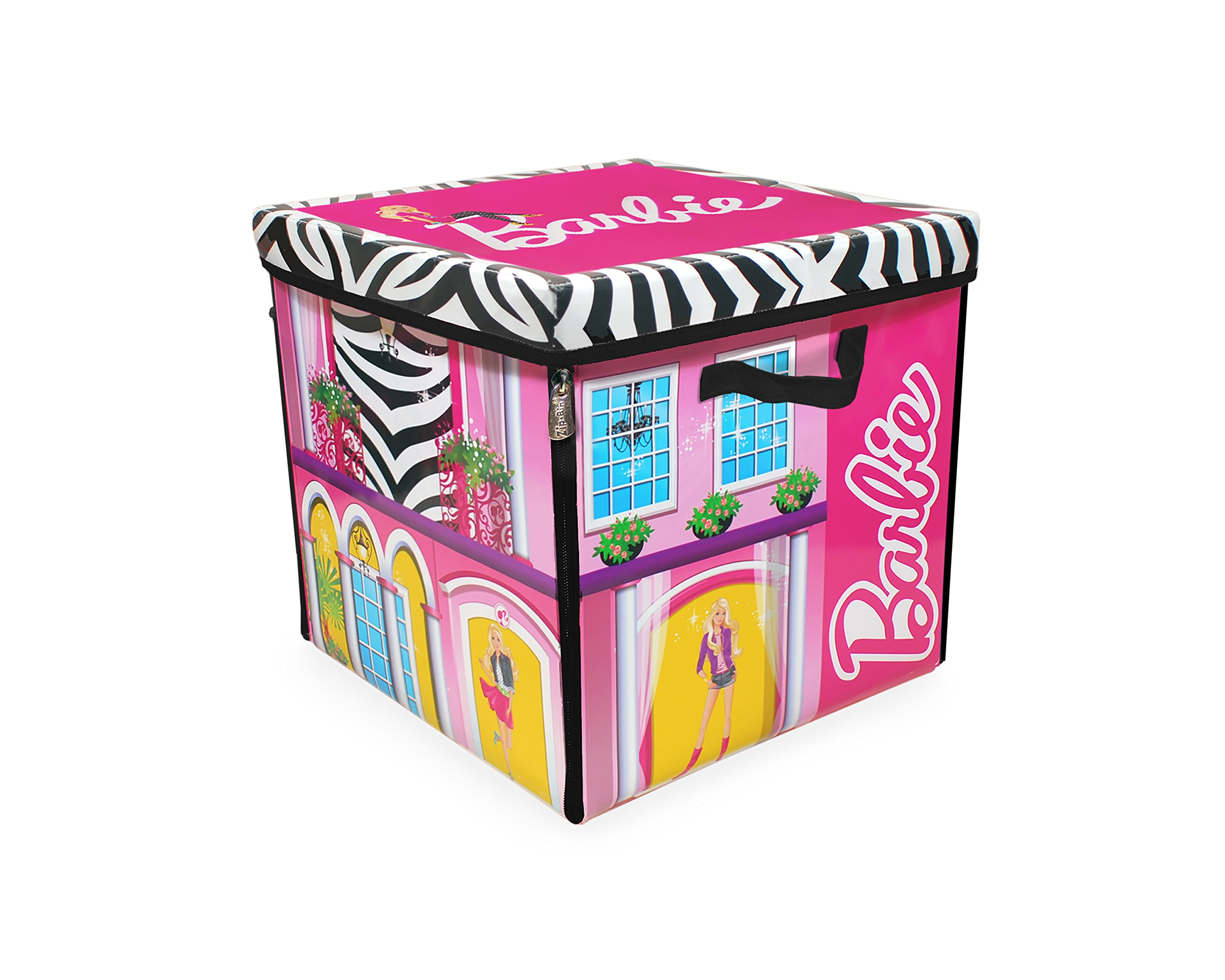 Barbie doll box template