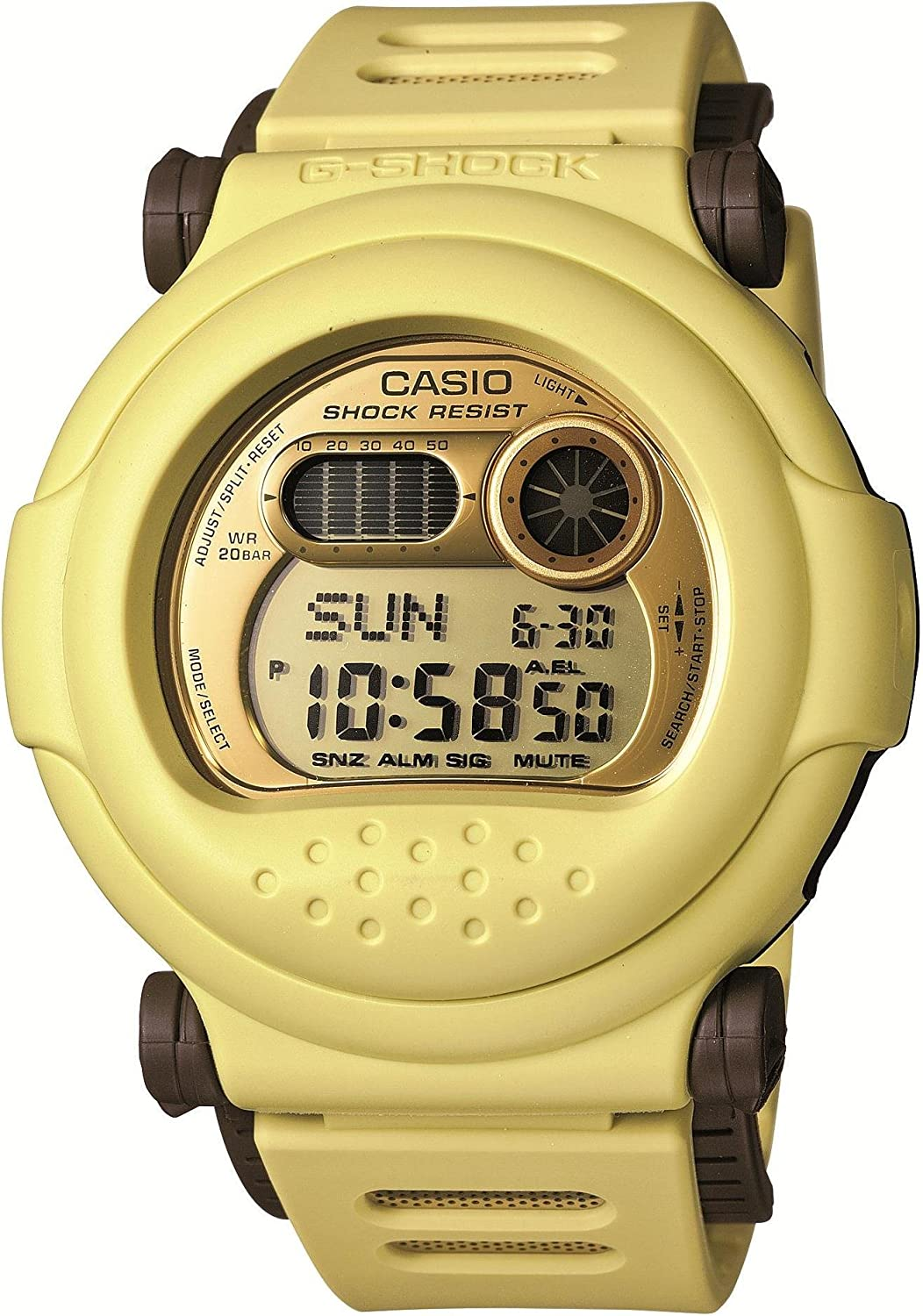 Casio G-SHOCK Winter Gold Series G-001CB-9JF Japan Import