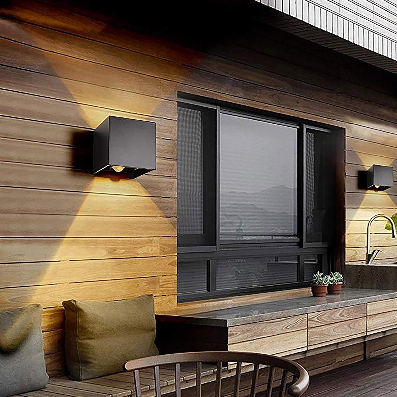 20W LED Apliques de Pared con Sensor de Movimiento Interior/exterior,  modernas Lamparas de comedor, salon, Jardín con ángulo ajustable Diseño