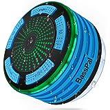 Basspal doccia altoparlante, IPX7 impermeabile portatile wireless Bluetooth altoparlanti 4.0 con super bass e HD Sound speaker, perfetto per spiaggia, piscina, cucina e casa (blu)