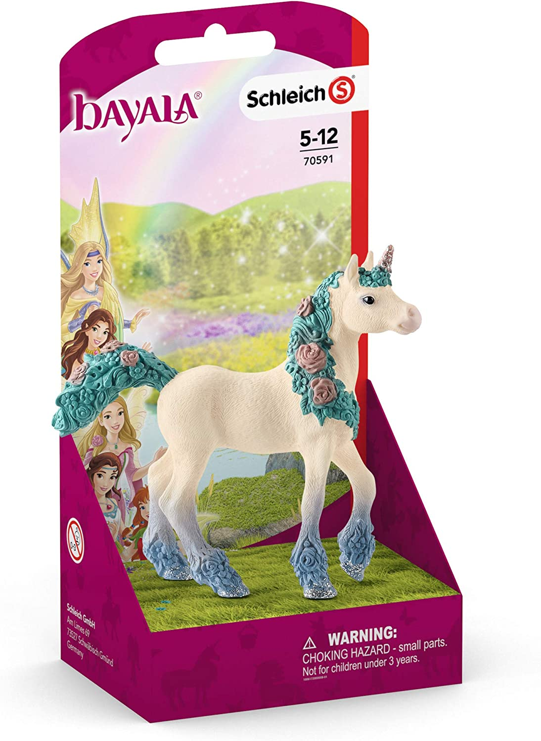 NEW Schleich Flower Unicorn Foal