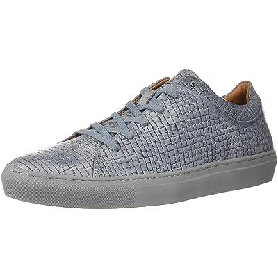 Amazon.com | Aquatalia Men's Alaric Embossed Calf Sneaker, Medium Grey, 11.5M M US | Fashion Sneakers