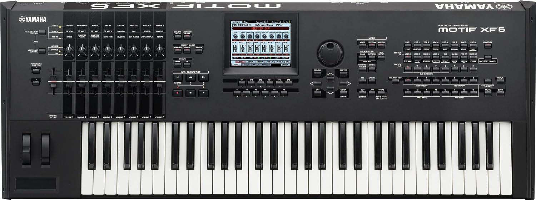 Yamaha Motif XF6 Music Production Synthesizer