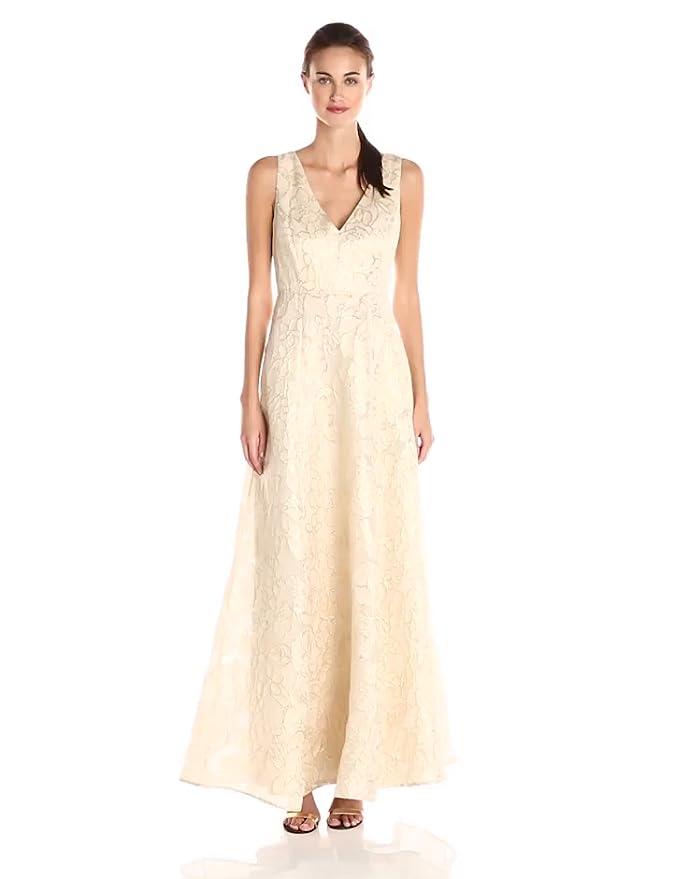 Amazon.com: ERIN erin fetherston Women\'s Gwendolyn Gold Metallic ...