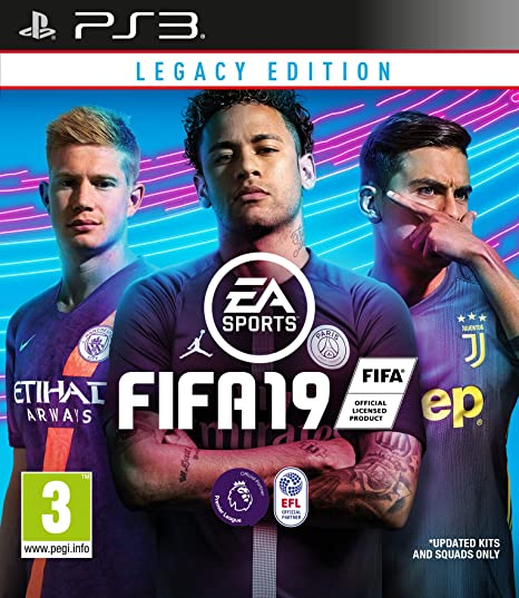 2658c3605ed FIFA 19 Legacy Edition (PS3)  Amazon.co.uk  PC   Video Games