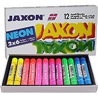 Jaxon 47408 Neon Pastel Olie Pastels Pack van 12)