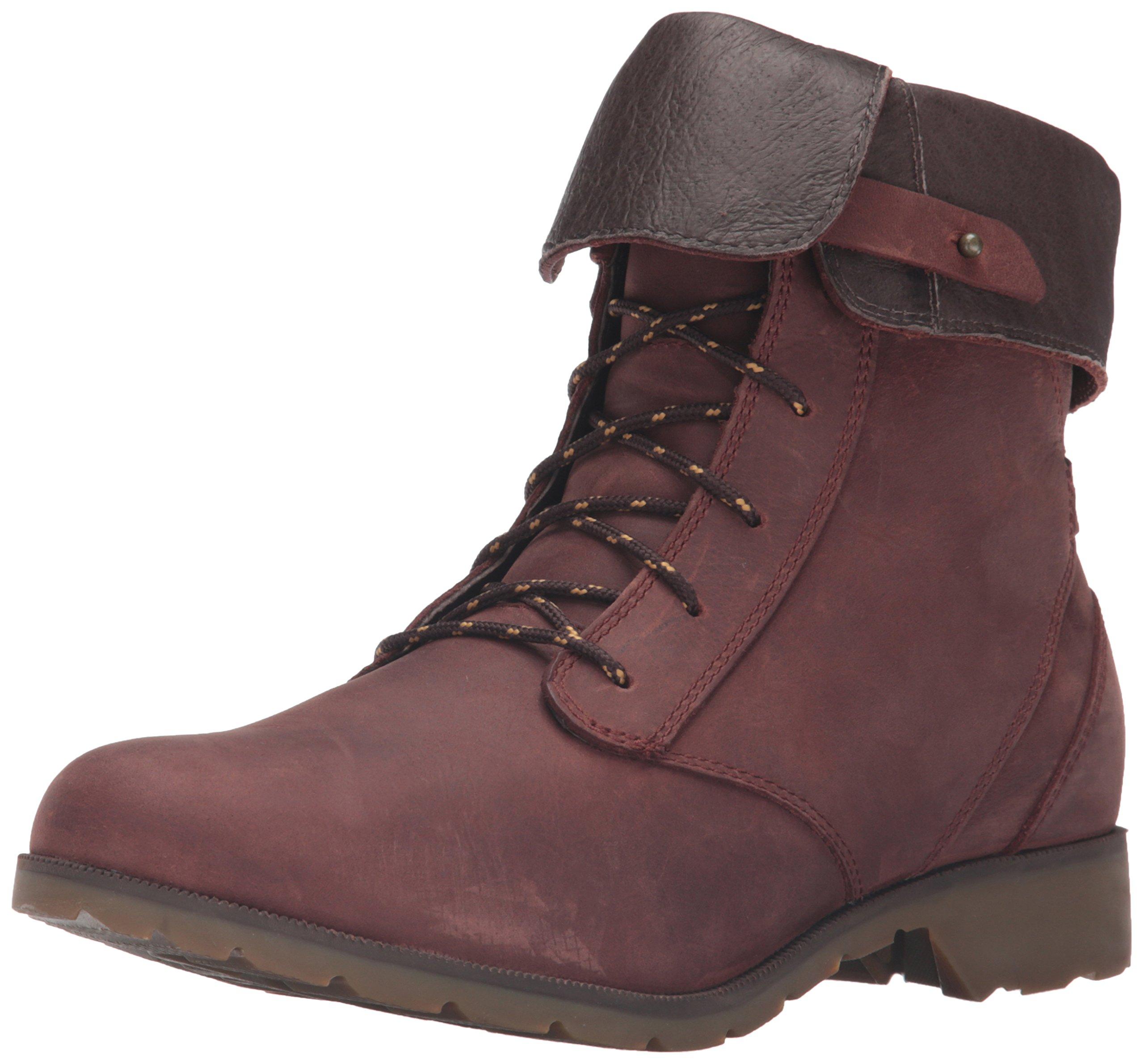 Teva Women's W Delavina Boot, Adobe Brown, 8.5 M US