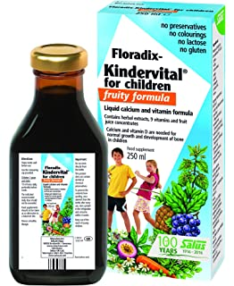 Salus Floradix Kindervital Fruity Vitaminas - 250 ml