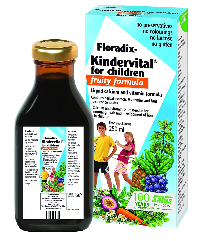 Floradix Kindervital para niños