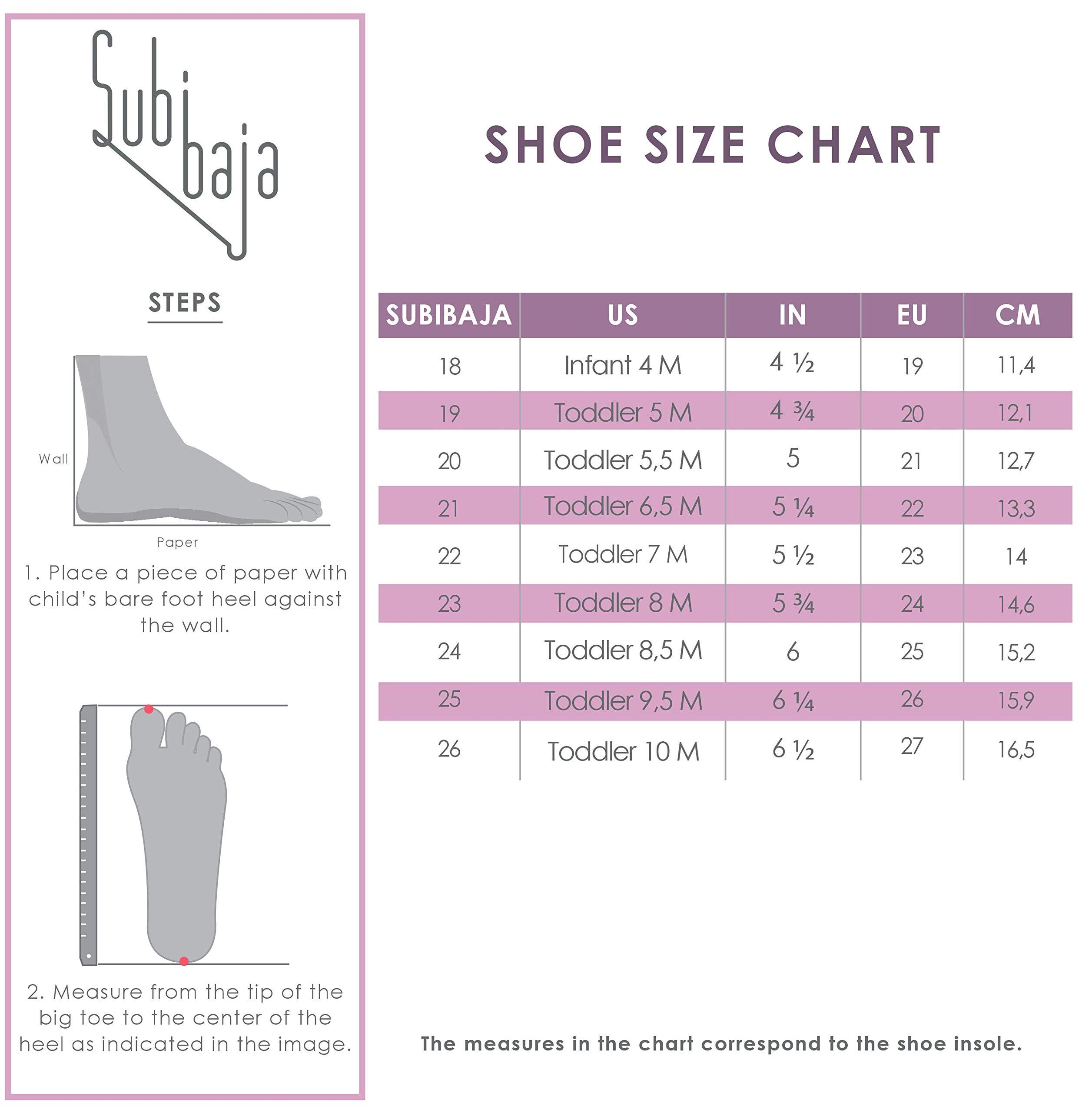Subibaja Martina - Classic Menorquina/Avarca Sandals for Baby Girls | Toddlers W10T