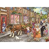 """1000 Piece Jigsaw Puzzle - Fruit & Veg - From The Panmure Collection - """"New July 2017"""""""