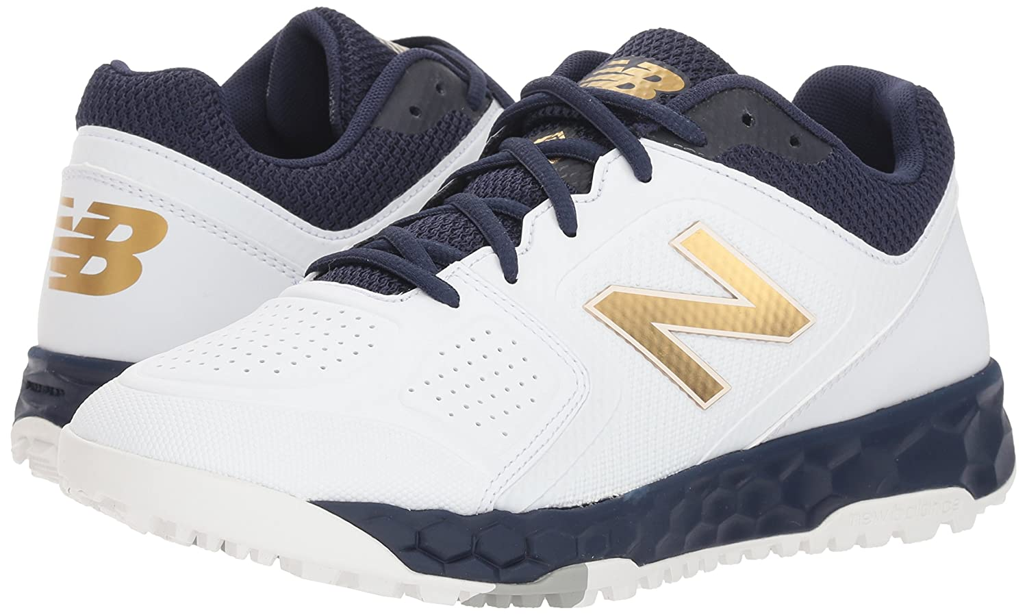 New Balance Women's Shoe Velo V1 Turf Softball Shoe Women's B075R3R9PK 12 W US|Navy/White 4acdfa