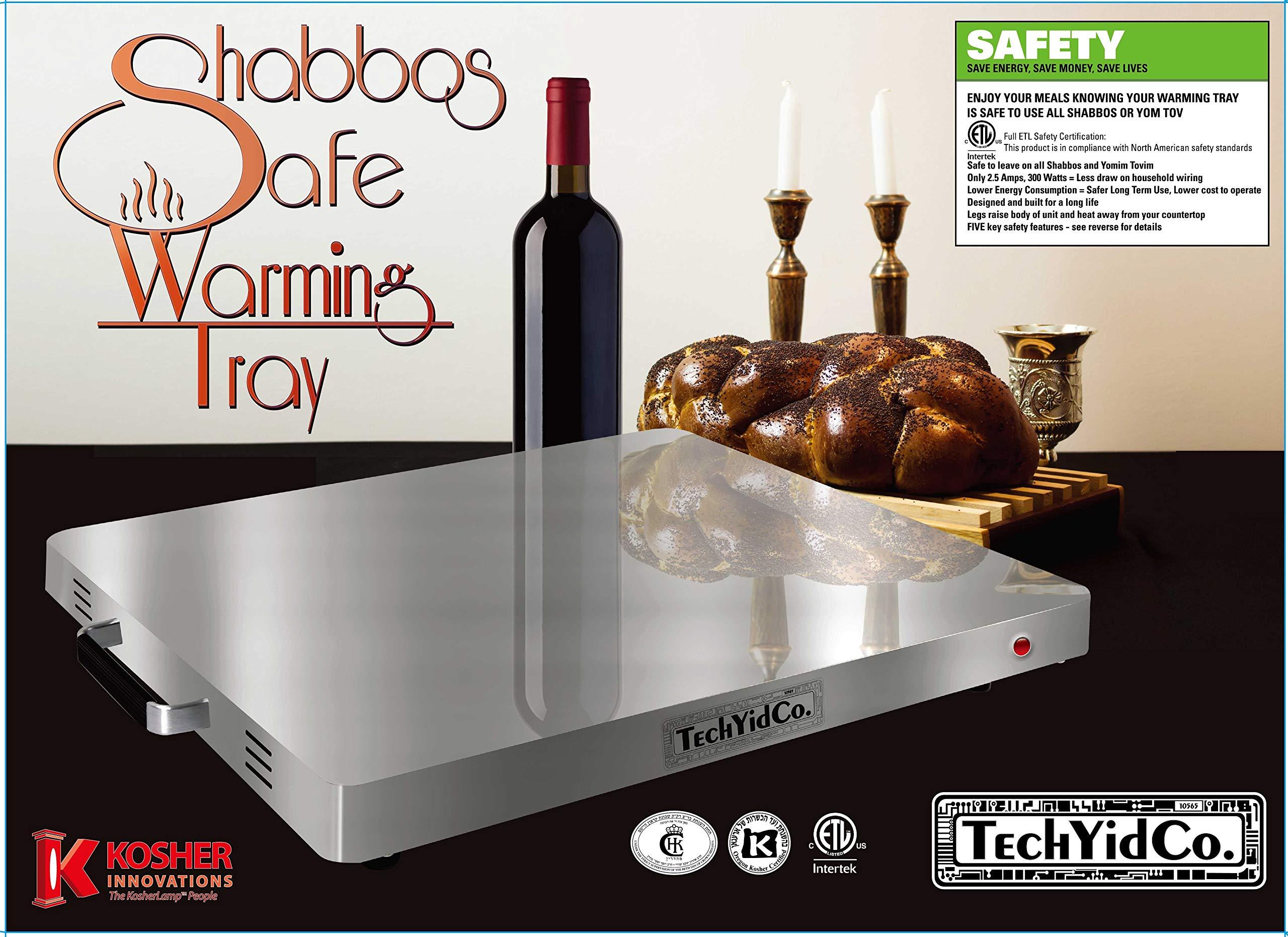 TechYidCo. Shabbos Safe Warming Tray by TECHYIDCO