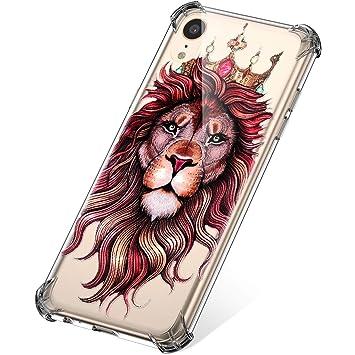 coque iphone xr rou lion