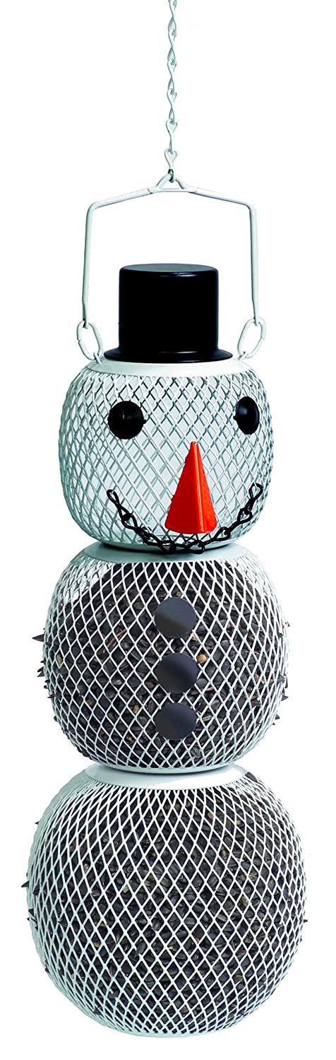 Perky-Pet SHSM00356 Solar Snow Man Bird Seed Feeder