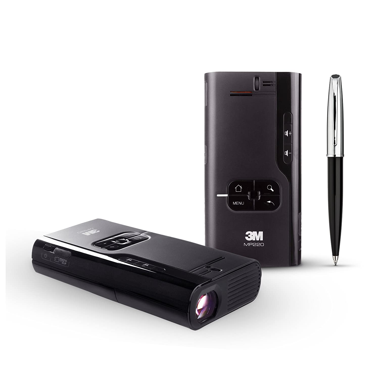 3M Mobile Presentation Projector (65 Lumen, 2 Hour Battery,MP220)