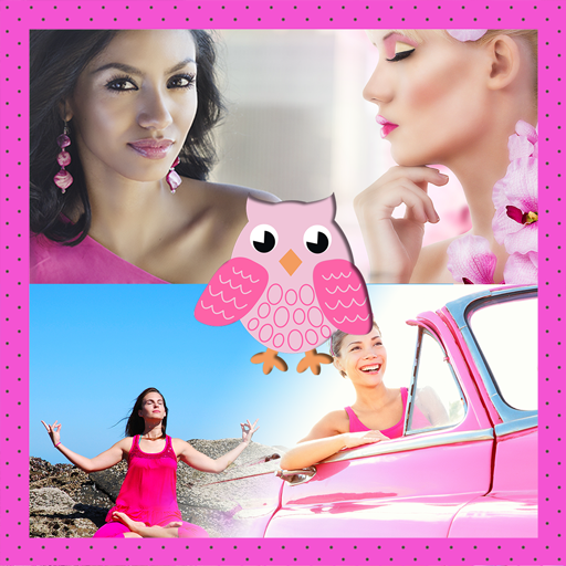 Pink Photo Collage (Photo Pink Great)