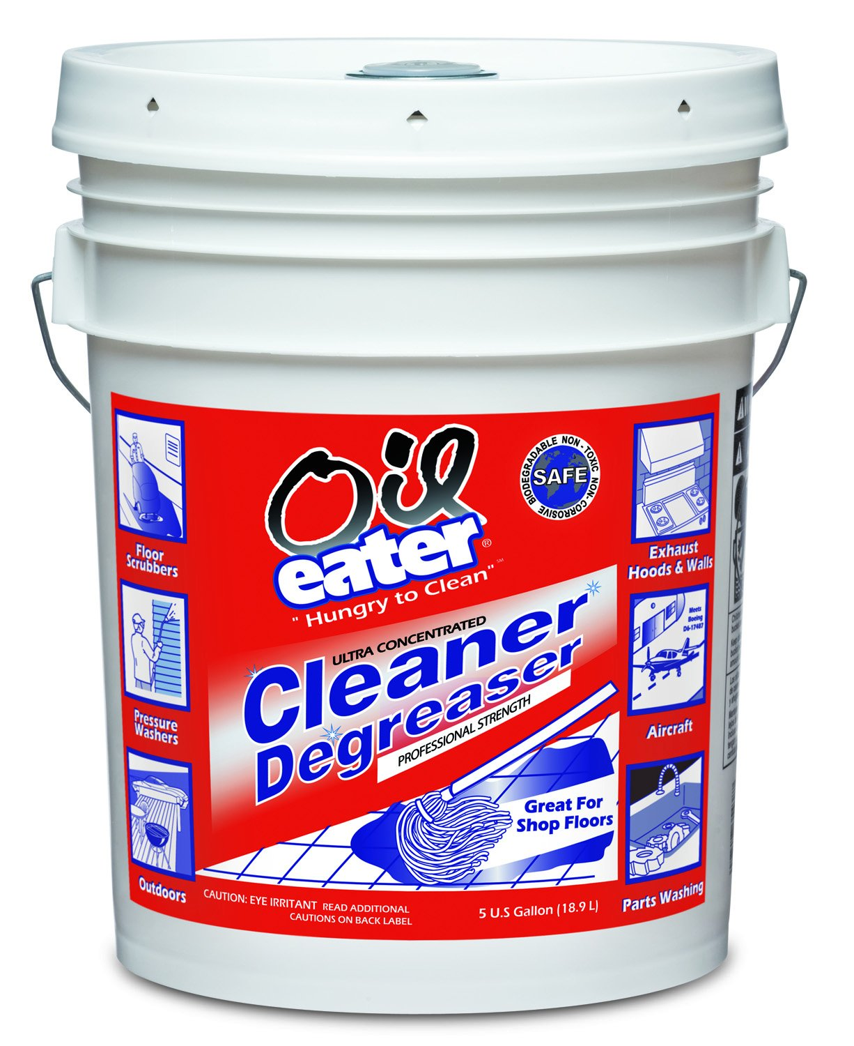 OIL EATER DEGREASER - 5 GALLON