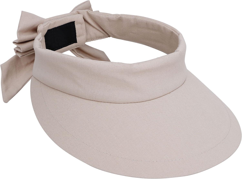 UV Protection Sun Visor Hat YoungLove Womens Wide Brim SPF 50