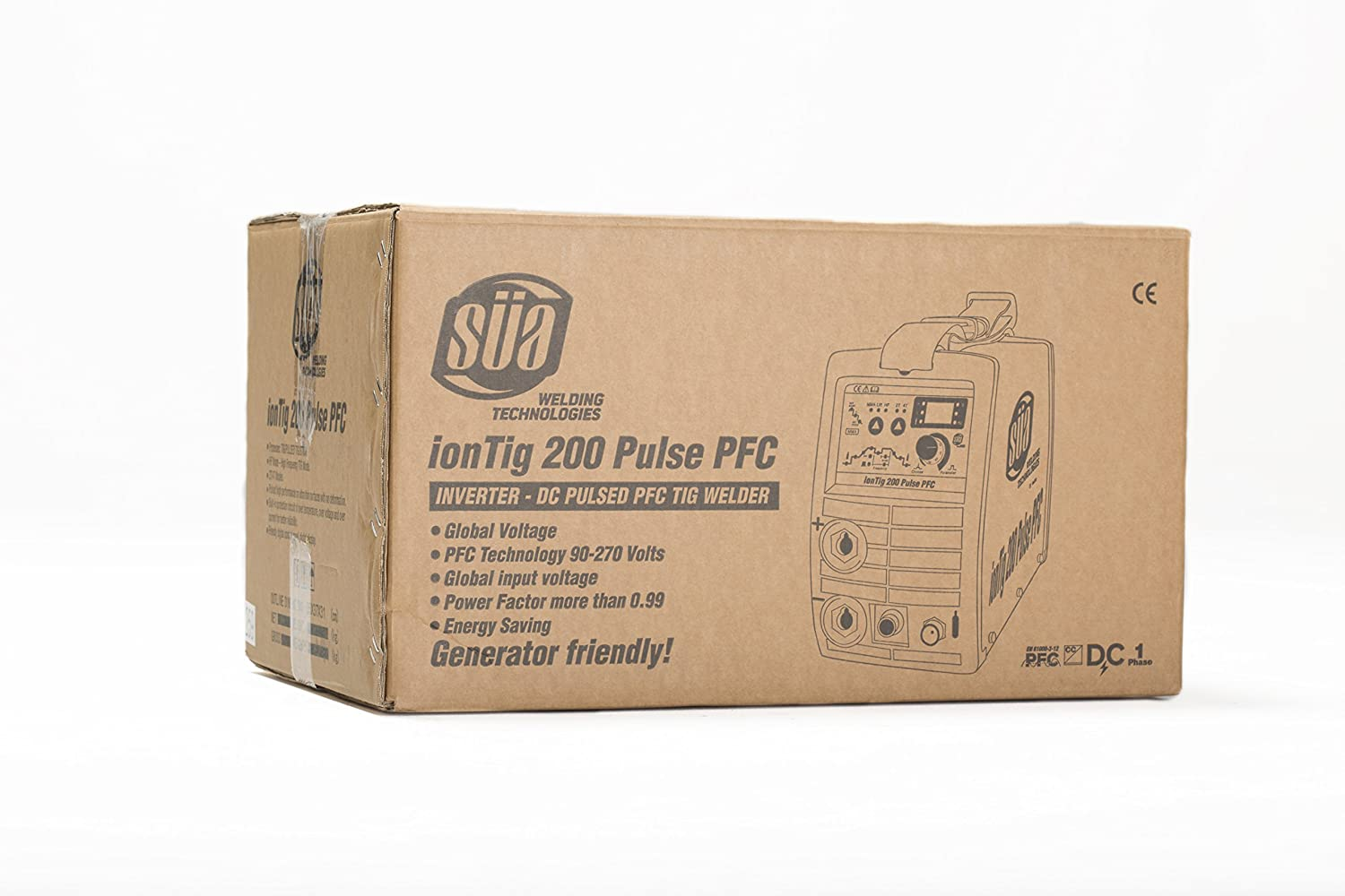 SÜA ionTig 200 Pulse PFC Inverter DC Pulsed TIG Welder - 110/220 Volts - - Amazon.com