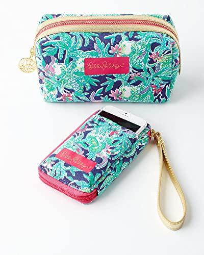 Lilly Pulitzer   Carded Id Smartphone Wristlet   Trunk Show