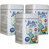 Nellie's Laundry Soda Tin, 3 Pack