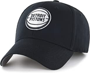 huge selection of 010b7 353c6 OTS Adult Men s NBA Star Adjustable Hat, Black and White, One Size