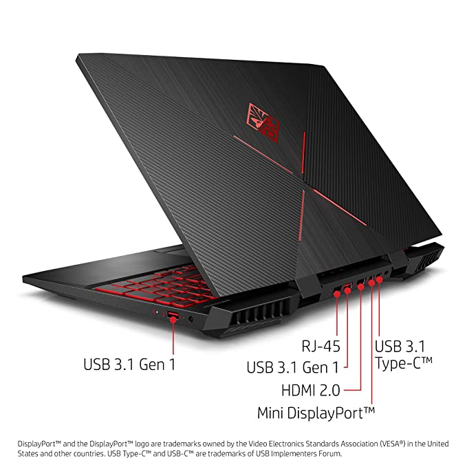 OMEN by HP 2018 15-Inch Gaming Laptop, Intel i7-8750H ...