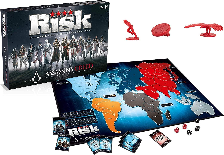 Winning Moves- Risk AssassinS Creed, 0263, versión Francesa: Amazon.es: Juguetes y juegos
