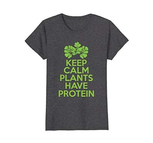 Vegan T-Shirt - Keep Calm Plants Have Protein