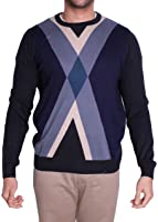 Lacoste TRICOT Sweater MIDNIGHT/MULTICO AH1899-51-ALE