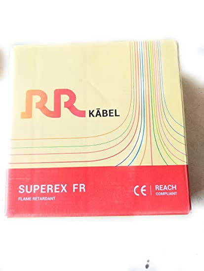 Rr Kabel Superex Fr Pvc Insulated Single Core Wire 1.00 Sq.mm