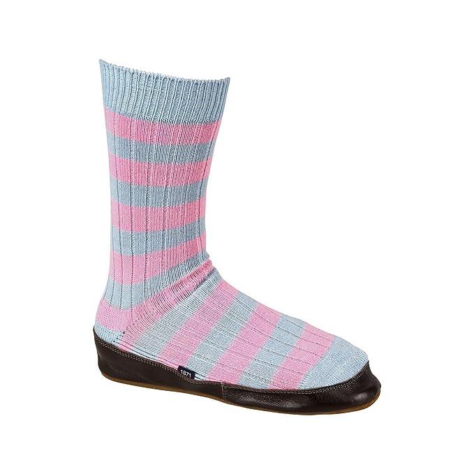 Black & Blue 1871 - Calcetines estilo zapatillas de estar por casa modelo Flamingoes para hombre: Amazon.es: Ropa y accesorios