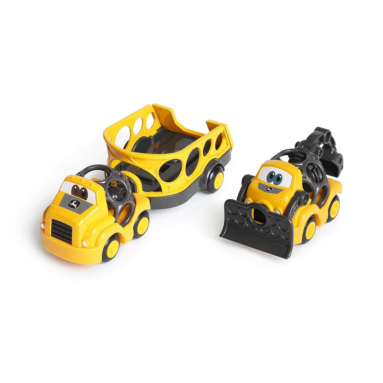 O Ball Go Grippers John Deere Construction Trailer Set Kids II - (Carson CA) 11055